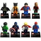 Lego Compatible SY180 Super Hero Avenger Hulk Spiderman Ironman Minifigure