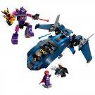 X-Men Wolverine Escape Sentinel Blackbird Jet Cyclops Storm Lego Movie Compatible