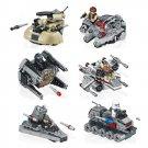 Lego Star Wars Micorfighters Compatible Mini Millennium Falcon Interceptor Destroyer Tank