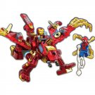 Super Hero Spiderman Ironman Hulkbuster Robot Car Minifigure Lego Compatible Toy