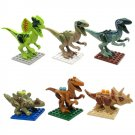 SL8916 Super Hero Jurassic Park Dinosaur Raptor Minifigure Compatible Lego Toy