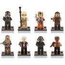 Star Wars Jedi Kylo Ren Rey Chewbacca Dameron Minifigure Lego Compatible Toy