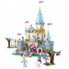 Lego Compatible Fairy Tale Cinderella Princess Castle Ball Palace Doll House