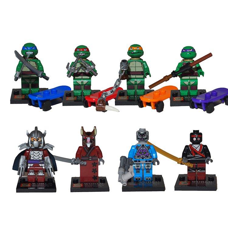 Lego Compatible SY176 Super Hero Teenage Mutant Ninja Turtle TMNT Minifigure
