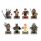 DC Justice Batman Superman Wonder Woman Villain Minifigure Lego Compatible Toy