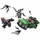 Lego Compatible Nick Fury Car Spiderman Venom Motorcycle Bike Cycle Chase