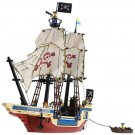 Enlighten Pirates Caribbean Ship Vessel Treasure Battle War Lego Compatible Toy