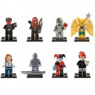 Lego Compatible Marvel Hero Silver Surfer Red Skull Harley Quinn Minifigure