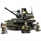 Lego Military Sets Compatible Army Battle Tank Motorcycle Soldier Figure