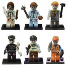 Zombie Walking Dead  Undead Monster Hunter Ghost Police Cop Lego Compatible