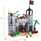 Lego Compatible Bricks Medieval Castle Kingdom Barrack War Soldier Pirate Figures