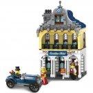 City Building Apartment Hotel House Antique Car Lego Compatible Toy