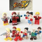 Street Fighter Vega Bison Ryu Ken Guile Comic Minifigure Lego Compatible Toy