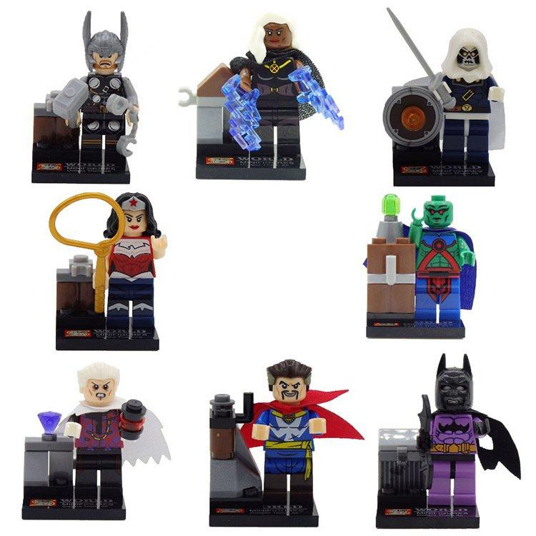 Super Hero DC Justice League X-men Avenger Minifigure Compatible Lego Toy