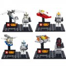 Star Wars Minifigure Jedi Warrior Clone Trooper Spaceship Lego Compatible Toy