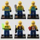 Despicable Me Figure Minion Movie Anime Cartoon Minifigure Lego Compatible Toy