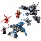 Iron Man Spiderman Carnage Shield Sky Attack Hero Minifigure Lego Compatible Toy
