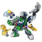 Super Hero Hulk Thor Wolverine Loki Mech Robot Minifigure Lego Compatible Toy