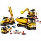 City Road Construction Loader Dump Excavator Vehicle Lego Compatible Toy