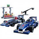 Champion Formula F1 Indy Race Car Television Stage Lego Compatible Toy