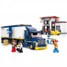 Lego City Compatible Toy Cargo Freight Truck Carrier Post Office Postman
