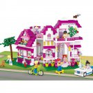 Lego Compatible Toy City Vacation Villa Apartment House Hotel Car