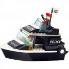 Lego City Compatible Toy Rescue Police Swat Navy Patrol Speed Boat Ship