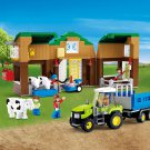 Barn Farm Ranch Livestock Construction House Tractor Lego Compatible Toy