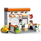 Lego City Compatible Toy Town Restaurant Diner Kitchen Picnic Minifigure