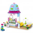 Lego City Compatible Toy Ice Cream Dessert Restaurant Cafe Children Park