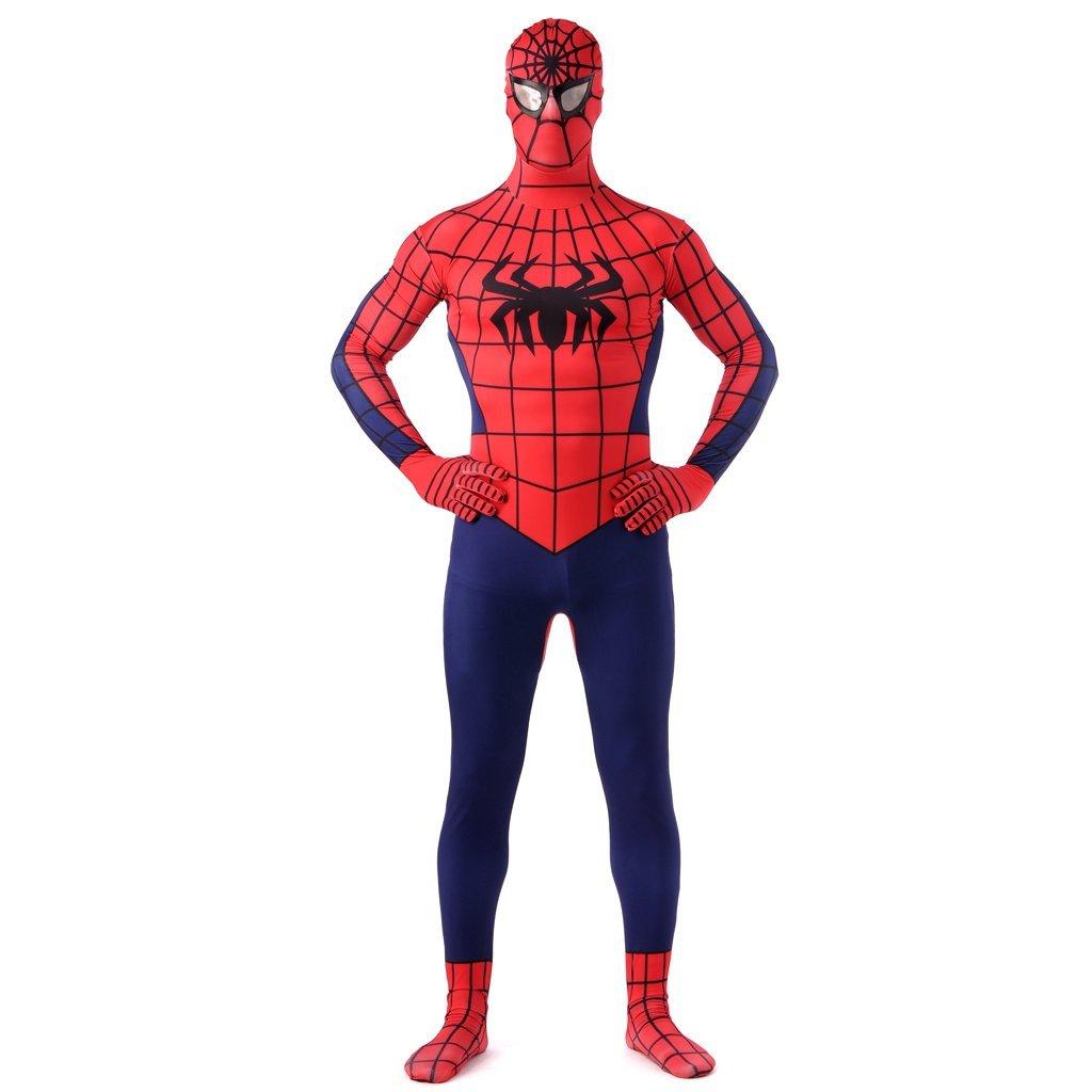 Spider Men bodysuit cosplay zentai cosume