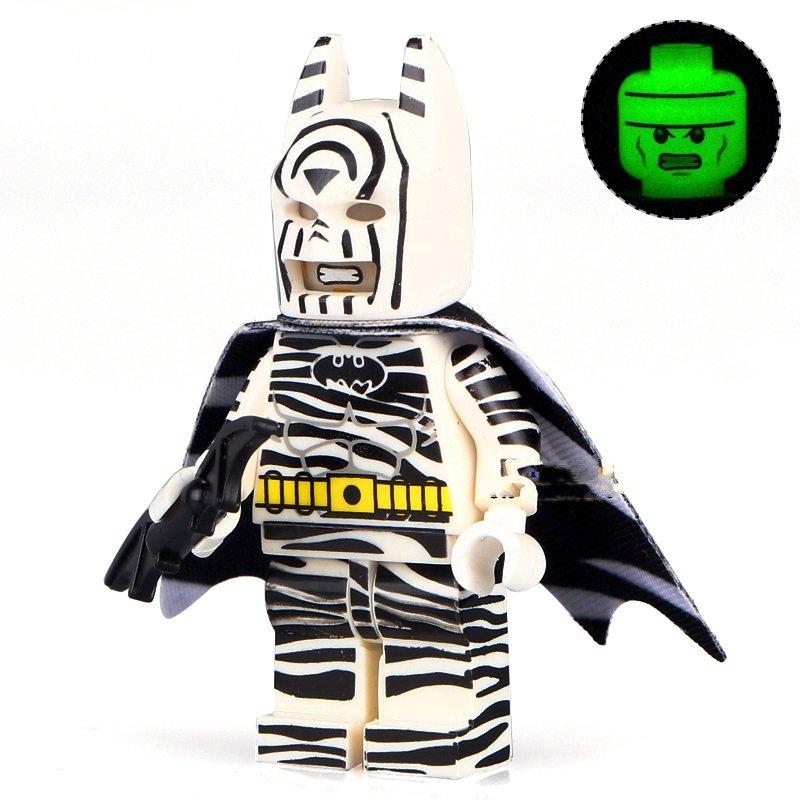 Super Hero Zebra The Batman movie Minifigure Building Blocks Toys Lego