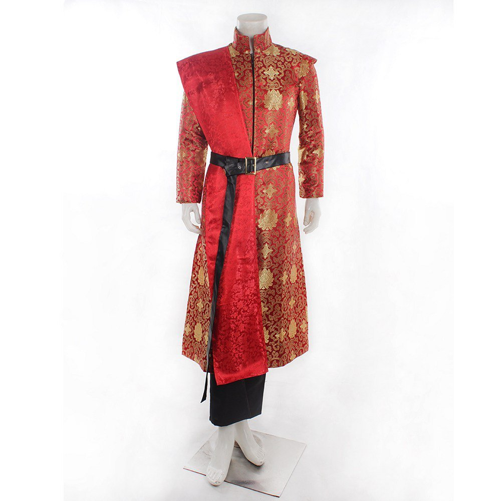Game of Thrones Prince The King Joffery Costume Men's Cosplay Halloween Party Dress