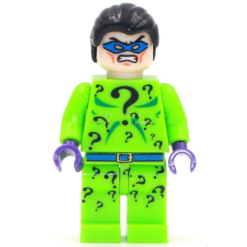 Lego Compatible Minifigure iddler DC Villain The Batman movie Toys