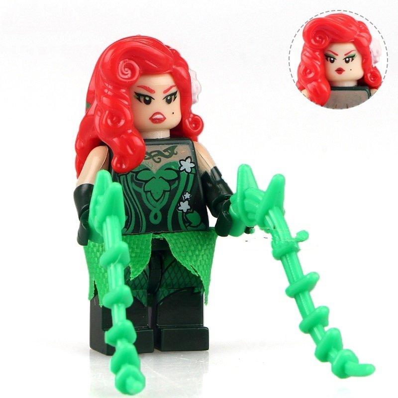 Batman Movie Poison Ivy Villain The Minifigure Lego Compatible Toys