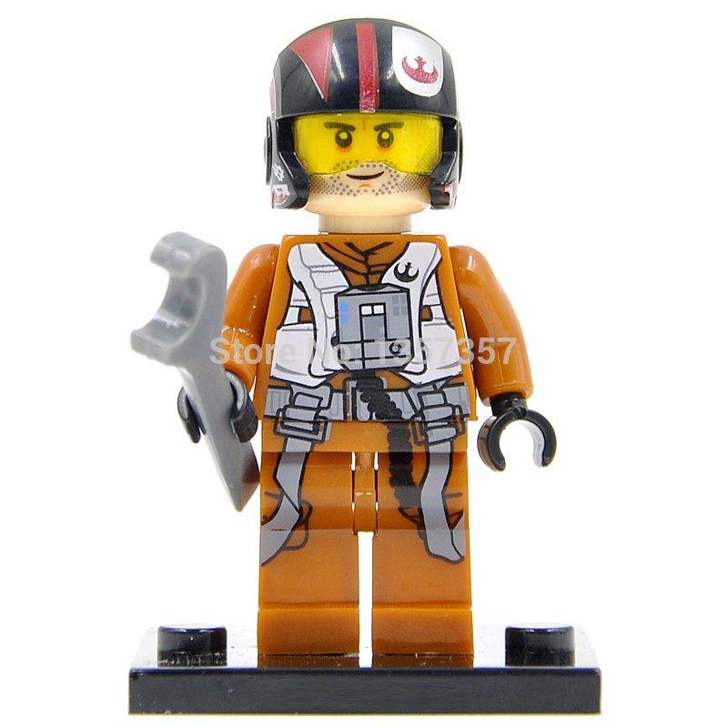 Lego Star Wars Minifigures Compatible Toy Poe Dameron