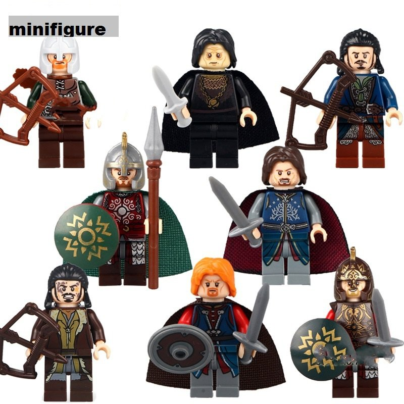 Custome Hobbits minifigures building toys Lego Compatible Gift for Children