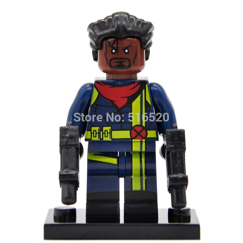 Marvel X-Men Bishop Minifigures Super Heroes Lego Compatible Toy