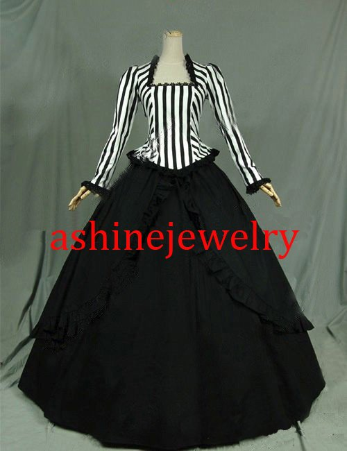 Custom Rococo Dance Dress Medieval Victoria Dance Dress Cosplay Costumes