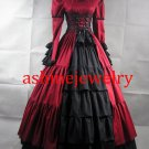 Women's Dress Rococo Baroque Ball Gown Medieval Victorian Cosplay Dress Halloween Party