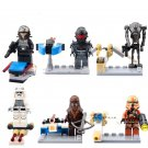 Star Wars Stormtrooper Wookiee Minifigure Lego Compatible Toy