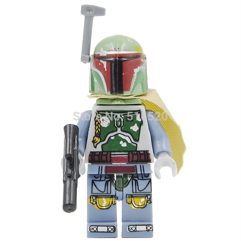 New Boba Fett Star Wars7 Minifigures Lego Compatible Toys