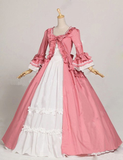 Women's Dress  Recoco  Carnival Party Dress   Cosplay Party Pink Victoria Dress