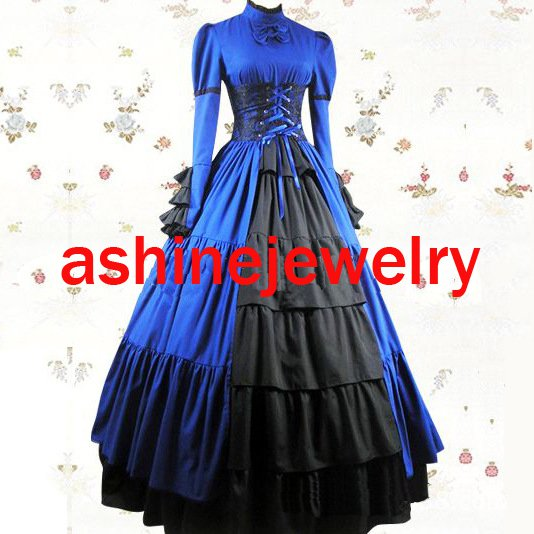Cosplay Women's Dress Rococo Baroque Dress Gothic Medieval Victorian Dress Fancy Dress