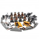Lego Military Minifigures Blitzkrieg Empire Compatible Toy