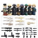 Army Military With Alloy Weapons Military Lego Minifigure Compatible Toy