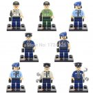 Lego Super Heroes Minifigures Avengers Police Compatible Toy