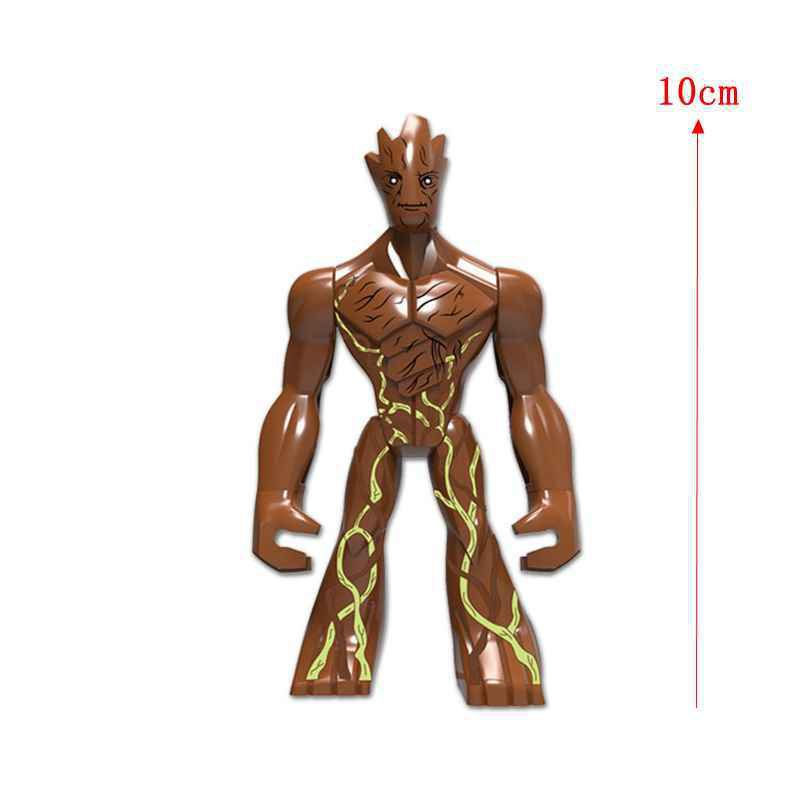 Groot DIY Dolls Guardians of the Galaxy minifigure Lego Compatible Toy