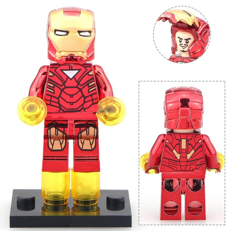 Iron Man Bricks Built Minifigures Lego Super Heroes Toy