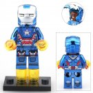 Iron Man Patriot Super Heroes Minifigure Compatible Toy